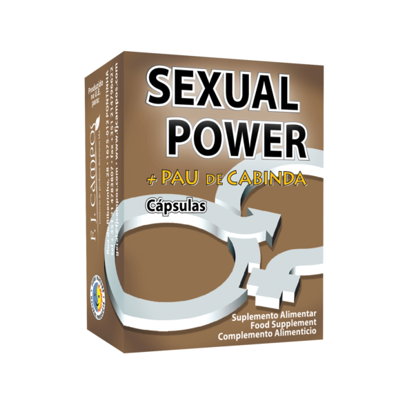 Sexual Power + Pau de Cabinda, cápsulas