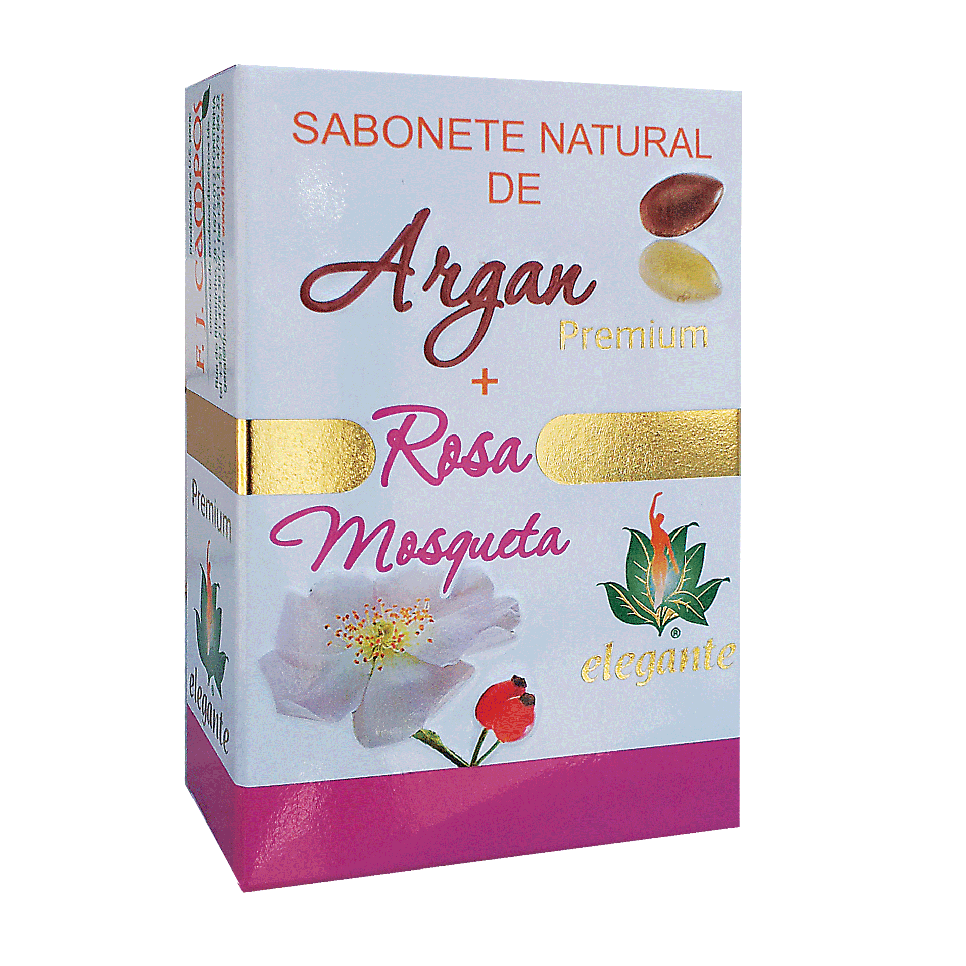 Sabonete Argan + Rosa Mosqueta PREMIUM