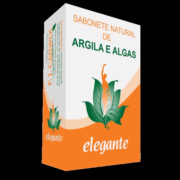 Sabonete Argila e Algas