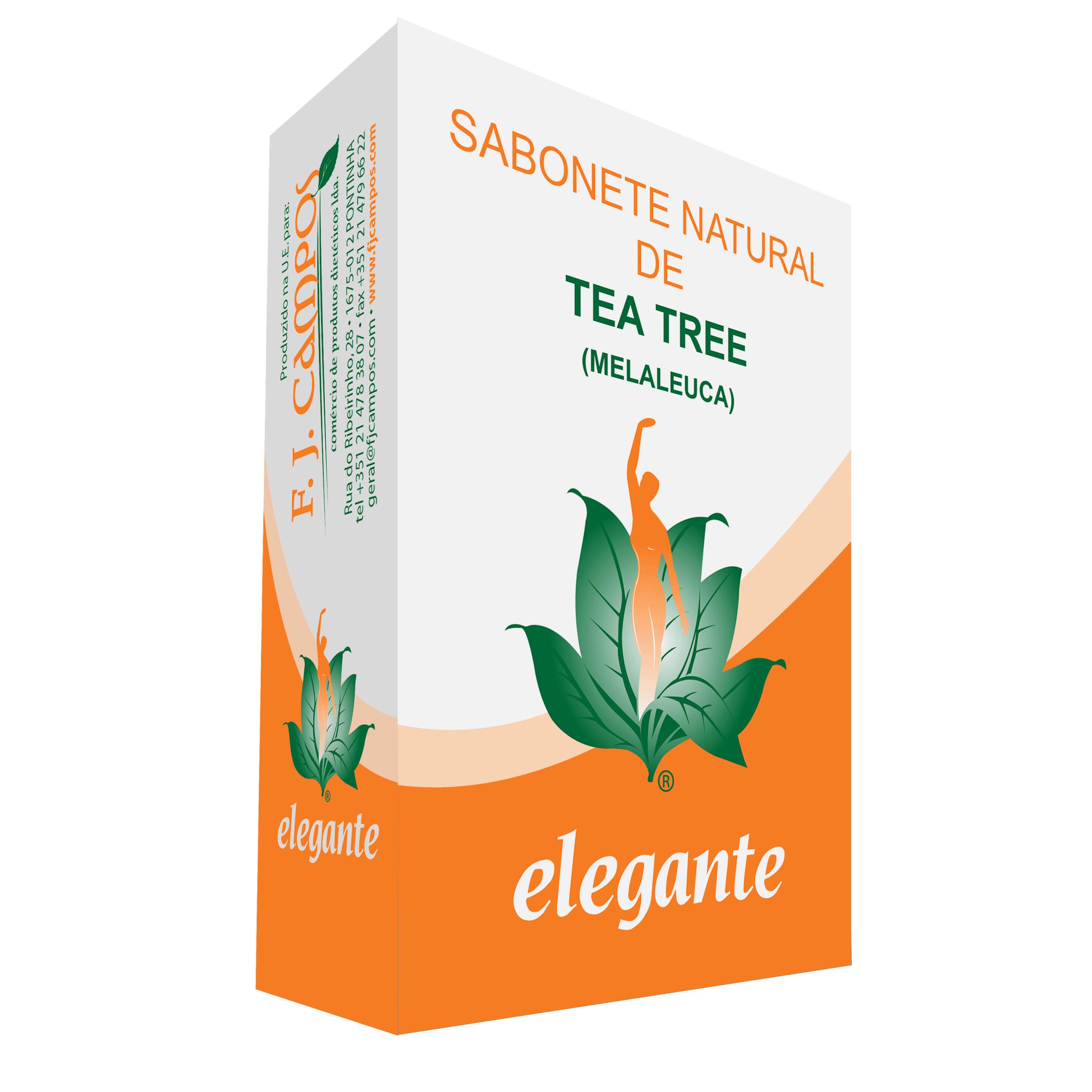 Sabonete Tea Tree (Melaleuca)