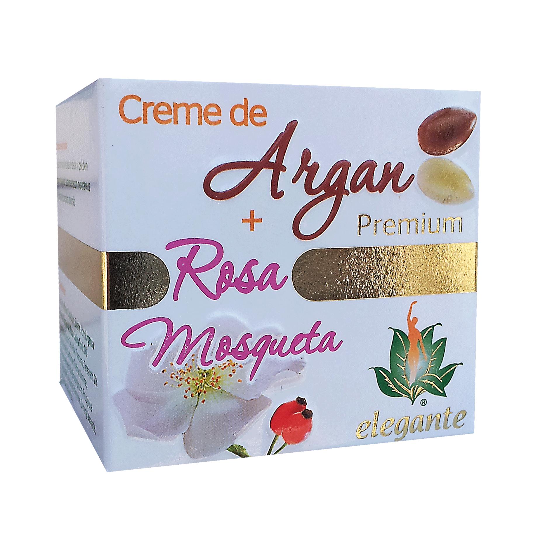 Creme de Argan + Rosa Mosqueta PREMIUM