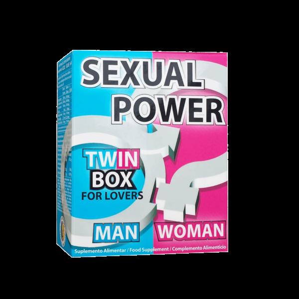 Sexual Power Twin Box